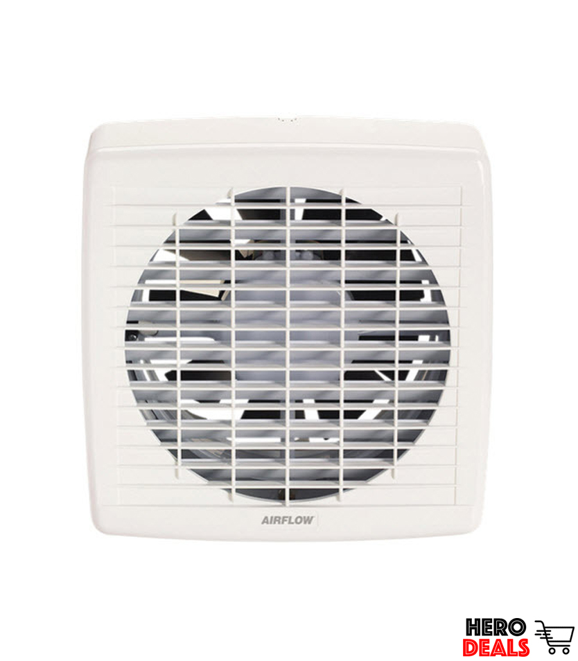 Airflow 7008A| Wall Exhaust Fan, Axial, 150mm, Pull-Cord Switch